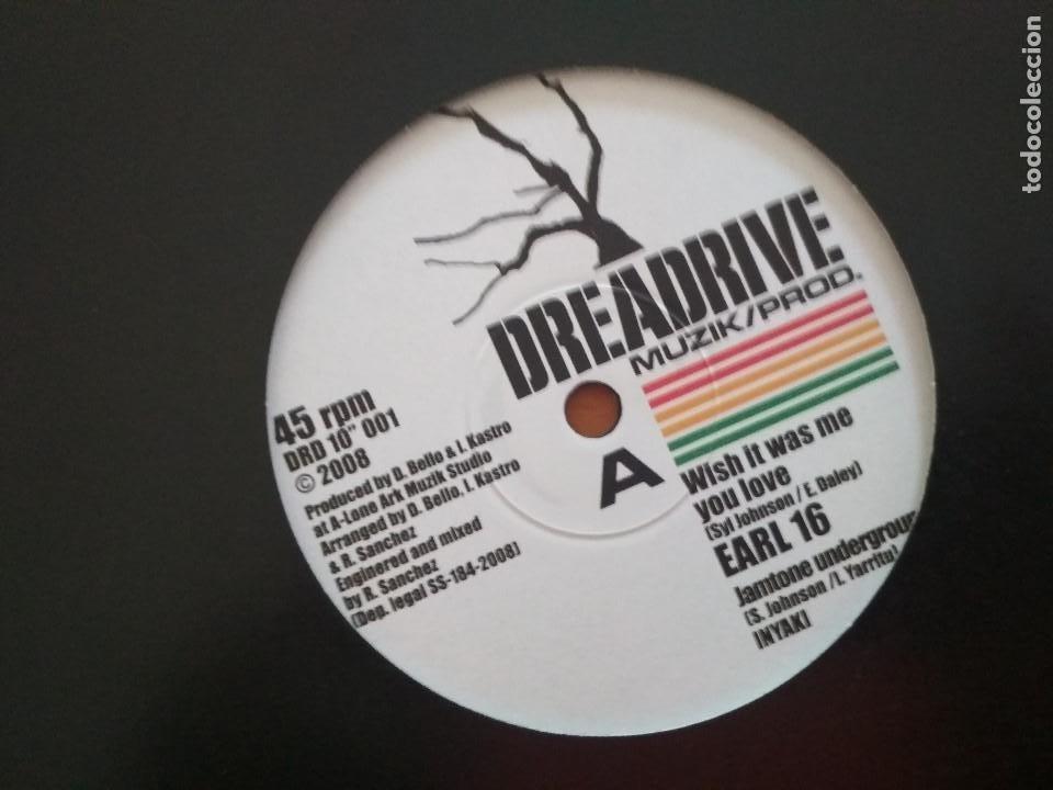 EARL 16 / KENNY KNOTS - WISH IT WAS ME YOU LOVE VINILO DIEZ PULGADAS (Música - Discos de Vinilo - Maxi Singles - Reggae - Ska)