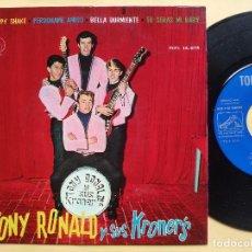 Discos de vinilo: TONY RONALD Y SUS KRONER' S - EP SPAIN PS - MINT * HIPPY, HIPPY SHAKE / PERDONAME, AMIGO + 2. Lote 198556012