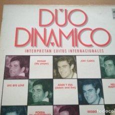 Discos de vinilo: DUO DINAMINCO INTERPRETAN EXITOS INTERNACIONALES LP. Lote 198556380