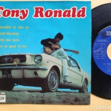 Discos de vinilo: TONY RONALD - EP SPAIN PS - MINT * PROMO * MI FORD MUSTANG / YOU' RE SO GOOD TO ME + 2. Lote 198557146