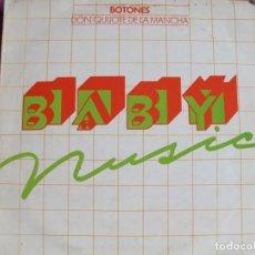 Discos de vinilo: LP - BOTONES - DON QUIJOTE DE LA MANCHA (SPAIN, PROMOCIONAL EPÌC 1979). Lote 198557751