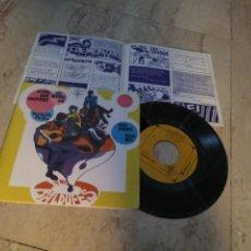 Discos de vinilo: ELS BALDUFES - ADEU IRENE BONA NIT / +3 - ALS 4 VENTS 1969 - JORDI CLUA-CONTIENE SU RARO INSERT. Lote 198561025
