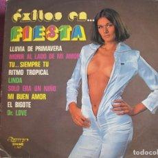 Discos de vinil: LP - EXITOS EN FIESTA (MARTHA Y TONY CON LA BRIGADA / PHIL CONWAY AND THE FREE GROUP). Lote 198561500