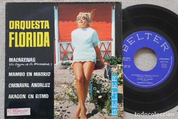 ORQUESTA FLORIDA MACARENAS EP VINYL MADE IN SPAIN 1962 (Música - Discos de Vinilo - EPs - Orquestas)