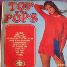Disques de vinyle: LP - TOP OF THE POPS (SPAIN, HALLMARK RECORDS 1971). Lote 198562297