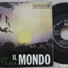 Discos de vinilo: JIMMY FONTANA IL MONDO EP VINYL MADE IN SPAIN 1965. Lote 198563151