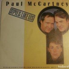 Discos de vinilo: PAUL MCCARTNEY-SPIES LIKE US-PROMOCIONAL. Lote 198563806