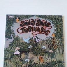 Discos de vinilo: THE BEACH BOYS SMILEY SMILE ( 1967 EMI CAPITOL UK ) STEREO. Lote 198564153