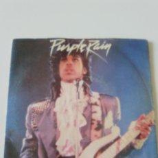 Discos de vinilo: PRINCE PURPLE RAIN / GOD ( 1984 WARNER BROS UK ). Lote 198567086