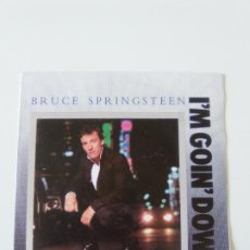 Discos de vinilo: BRUCE SPRINGSTEEN I'M GOIN' DOWN / JANEY DON'T YOU LOSE HEART ( 1985 CBS UK ). Lote 198567841