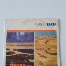 Discos de vinilo: DURAN DURAN PLANET EARTH / LATE BAR ( 1981 EMI UK ). Lote 198567917