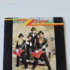 Discos de vinilo: ZZ TOP SHARP DRESSED MAN / I GOT THE SIX ( 1984 WARNER BROS UK ). Lote 198568002
