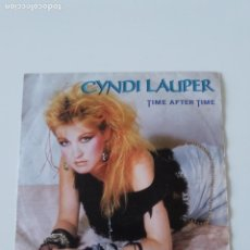 Discos de vinilo: CYNDI LAUPER TIME AFTER TIME / I'LL KISS YOU ( 1984 PORTRAIT EPIC HOLLAND ). Lote 198569330