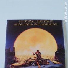 Discos de vinilo: JACKSON BROWNE LAWYERS IN LOVE / SAY IT ISN'T TRUE ( 1983 WEA ESPAÑA ). Lote 198571575