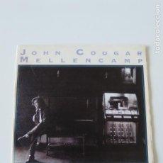 Discos de vinilo: JOHN COUGAR MELLENCAMP PAPER IN FIRE / NEVER TOO OLD ( 1987 MERCURY ESPAÑA ). Lote 198571686