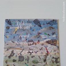 Discos de vinilo: TALKING HEADS ROAD TO NOWHERE / TELEVISION MAN ( 1985 EMI ESPAÑA ) DAVID BYRNE. Lote 198571766