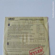 Discos de vinilo: UB40 TYLER / LITTLE BY LITTLE ( 1980 MOVIEPLAY ESPAÑA ). Lote 198572107