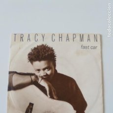 Discos de vinilo: TRACY CHAPMAN FAST CAR / FOR YOU ( 1988 WEA GERMANY ). Lote 198572253