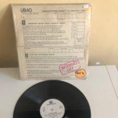 Discos de vinilo: DISCO DE VINILO SINGING OFF UB40. Lote 198575112