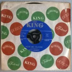 Discos de vinilo: BOYD BENNETT. TEENAGE YEARS/ HEAR ME TALKING. KING, USA 1963 SINGLE. Lote 198575591