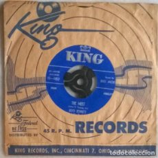 Discos de vinilo: BOYD BENNETT & HIS ROCKETS. THE MOST/ DESPERATELY. KING, USA 1955 SINGLE. Lote 198575927