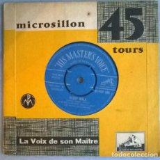 Discos de vinilo: KEN MACKINTOSH. MORGEN/ SLEEP WALK. HIS MASTER'S VOICE, UK 1959 SINGLE. Lote 198577700