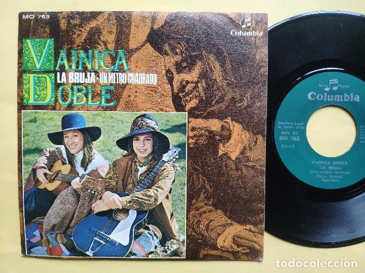 Discos de vinilo: VAINICA DOBLE - 45 Spain PS - MINT * CON POSTER DESPLEGABLE * LA BRUJA / UN METRO CUADRADO - Foto 3 - 198579566
