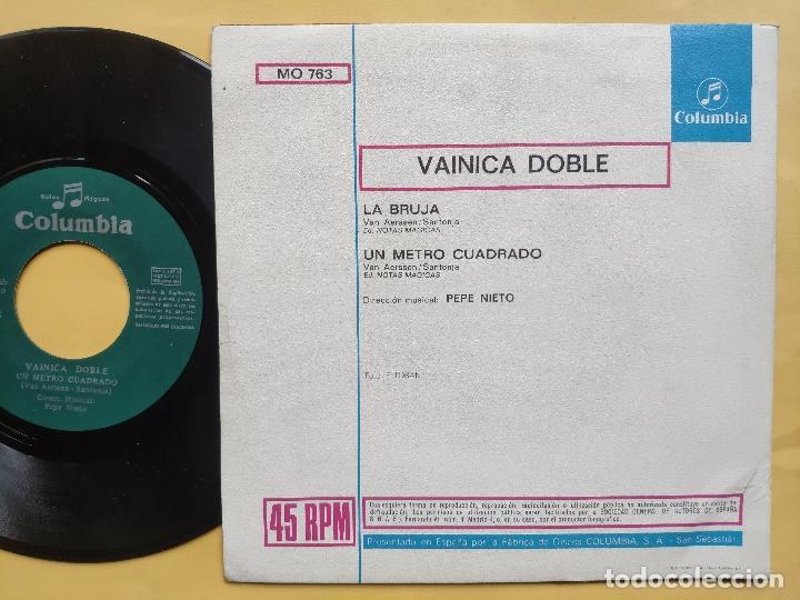 Discos de vinilo: VAINICA DOBLE - 45 Spain PS - MINT * CON POSTER DESPLEGABLE * LA BRUJA / UN METRO CUADRADO - Foto 4 - 198579566