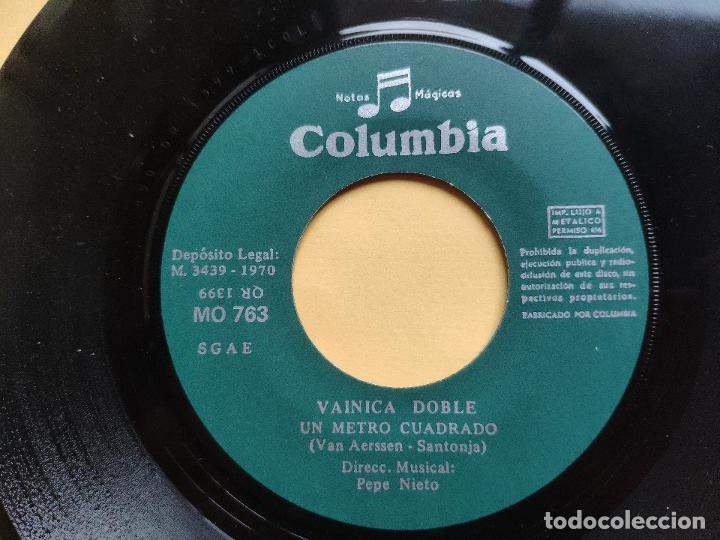 Discos de vinilo: VAINICA DOBLE - 45 Spain PS - MINT * CON POSTER DESPLEGABLE * LA BRUJA / UN METRO CUADRADO - Foto 6 - 198579566