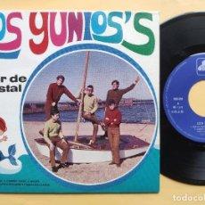 Disques de vinyle: LOS YUNIO' S - EP SPAIN PS - EX * PROMO * 1973 * DISCOGRÁFICA DIM * MAR DE CRISTAL + 3. Lote 198581502
