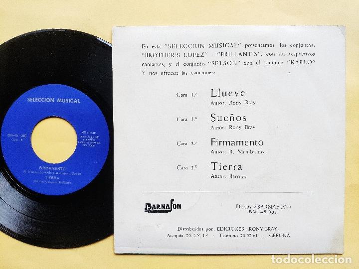 Discos de vinilo: BRILLANTS / BROTHERS LOPEZ / SETSON / CARLO - EP Spain PS - MINT * CONJUNTOS REUNIDOS * MUY RARO - Foto 2 - 198582240