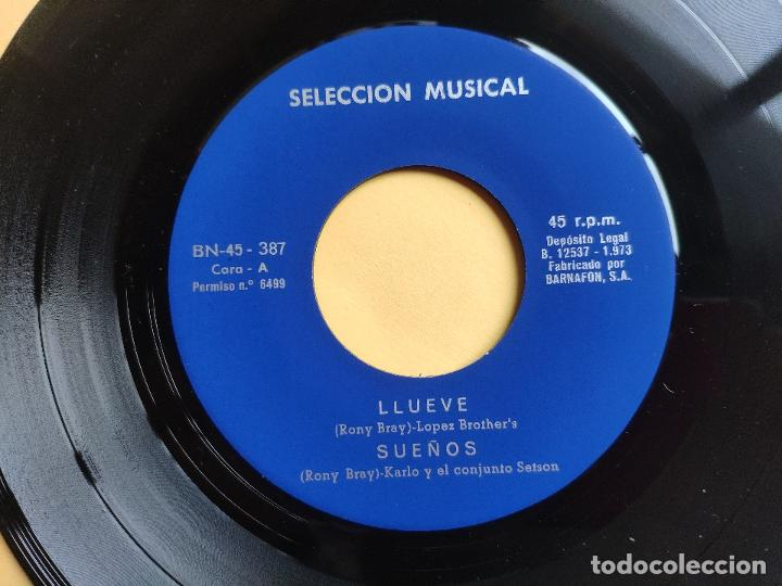 Discos de vinilo: BRILLANTS / BROTHERS LOPEZ / SETSON / CARLO - EP Spain PS - MINT * CONJUNTOS REUNIDOS * MUY RARO - Foto 3 - 198582240