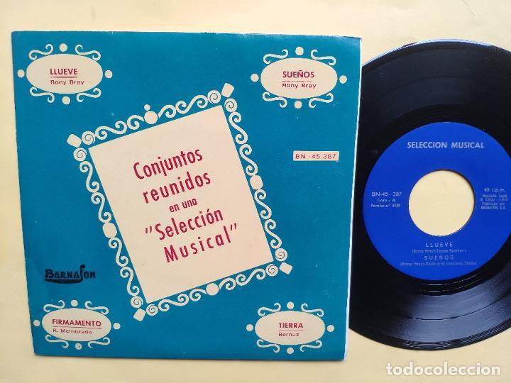 BRILLANT'S / BROTHER'S LOPEZ / SETSON / CARLO - EP SPAIN PS - MINT * CONJUNTOS REUNIDOS * MUY RARO (Música - Discos de Vinilo - EPs - Grupos Españoles de los 70 y 80)