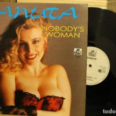 Discos de vinilo: DANUTA NOBODY´S WOMAN / 1989 SPLASH RECORDS MX 1057 . Lote 198583067