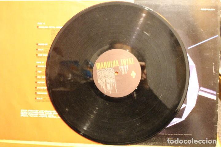 Discos de vinilo: MAQUINA TOTAL 2 MEGAMIX / 1991 MAX RECORDS NM510LETV - Foto 3 - 198583202