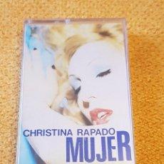 Discos de vinilo: CHRISTINA RAPADO / MUJER (CASSETTE DE LOS '90). Lote 198599852