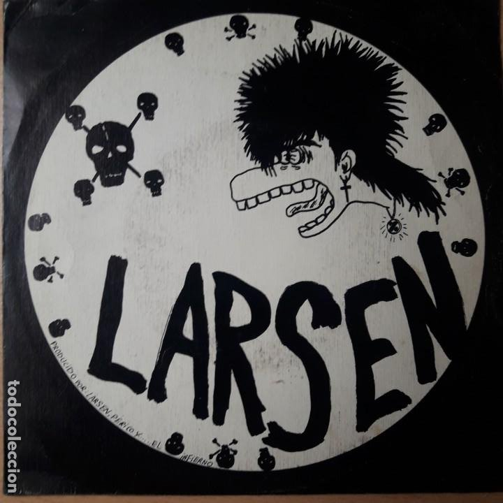 Discos de vinilo: EP SINGLE LARSEN EL PAYASO ORIGINAL SPANSULS RECORDS 1984 MUY RARO PUNK ROCK RADIKAL - ESKORBUTO - Foto 2 - 198604116