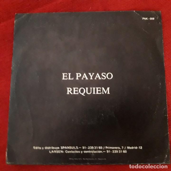 Discos de vinilo: EP SINGLE LARSEN EL PAYASO ORIGINAL SPANSULS RECORDS 1984 MUY RARO PUNK ROCK RADIKAL - ESKORBUTO - Foto 3 - 198604116