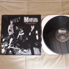Discos de vinilo: LP MISFITS 1980 MSP SESSIONS - NUEVO - PUNK ROCK RADIKAL - RAR EDICIÓN CON LABELS LETRAS PLATA GRIS. Lote 198606191