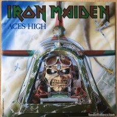 Discos de vinilo: IRON MAIDEN ?– ACES HIGH, UK 1984 EMI. Lote 198609191