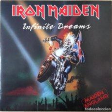Discos de vinilo: IRON MAIDEN ?– INFINITE DREAMS, UK 1989 EMI. Lote 198609572
