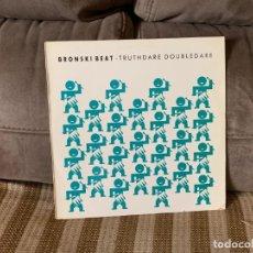 Discos de vinilo: BRONSKI BEAT – TRUTHDARE DOUBLEDARE. DISCO VINILO. ENTREGA 24H. Lote 198610162