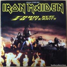 Discos de vinilo: IRON MAIDEN – FROM HERE TO ETERNITY, GRABADO UK 1992 EMI. Lote 198611965