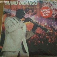 Discos de vinilo: MANU DIBANGO AMBASSADOR LP. Lote 198614103