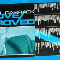 Discos de vinilo: PAUL CARRACK ITALIA LP 1989 GROOVE APPROVED POP ROCK INSERT + LETRAS CHRYSALIS IMPORTACIÓN RARO !!. Lote 198615883