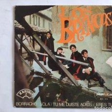 Discos de vinilo: EP LOS BRINCOS - BORRACHO. Lote 198629156
