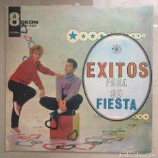 Discos de vinilo: EXITOS PARA SU FIESTA - VARIOS INTERPRETES - DISCOGRAFICA ODEON -VENEZUELA. Lote 198631160