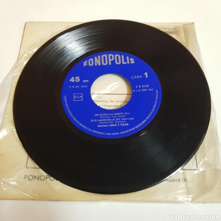 Discos de vinilo: LOLA Y PILAR - ME GUSTA LAGENTE - QUE TAL DOLLY - FONOPOLIS - Foto 3 - 198638616