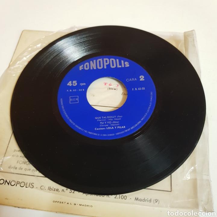 Discos de vinilo: LOLA Y PILAR - ME GUSTA LAGENTE - QUE TAL DOLLY - FONOPOLIS - Foto 4 - 198638616