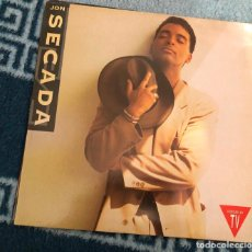Discos de vinilo: LP JON SECADA 1992 JUST ANOTHER DAY OTRO DIA MAS SIN VERTE CD SINGLE ALBUM ESPAÑOL. Lote 198645955